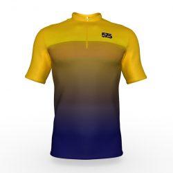 Kerékpáros mez WEEKEND Ombre-Yellow