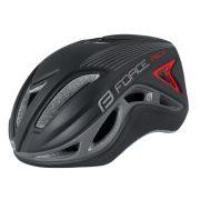 FORCE REX kerékpáros sisak fekete-szürke