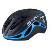 FORCE REX kerékpáros sisak fekete-kék